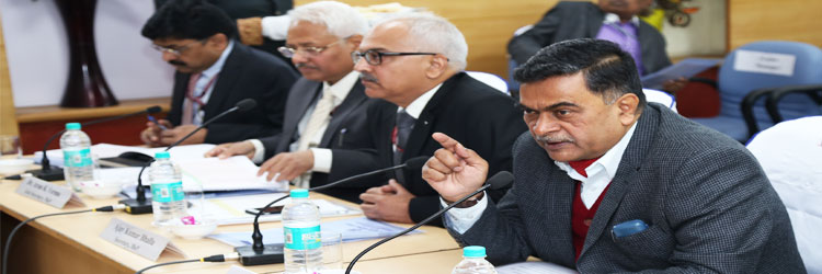 Hon'ble Minister of State for Power in discussion with States during RPM meeting on 12-Feb-2018